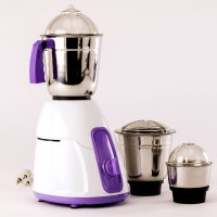 BMS Lifestyle 3 Stainless Steel Jars_01 550 W Mixer Grinder(Purple, 3 Jars)