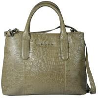 Cross Women Khaki PU Hand-held Bag