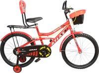 Atlas EQUATOR TT RED & BLACK 20 T Recreation Cycle(Single Speed, Multicolor)