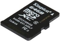 Kingston Digital 64 GB MicroSDXC Class 10 30 MB/s  Memory Card