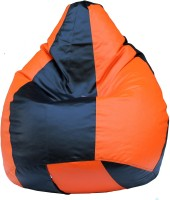 View Earthwood XXXL Bean Bag Cover(Orange) Furniture (Earthwood)