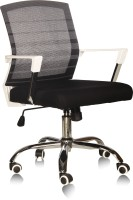 View Silver Arrow Office Chair Fabric Office Executive Chair(Multicolor, Set of 2) Furniture (Silver Arrow)