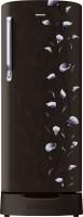 SAMSUNG 192 L Direct Cool Single Door 2 Star Refrigerator(Tender Lily Black, RR19M2822BZ/NL,RR19M1822BZ/HL)