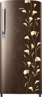SAMSUNG 192 L Direct Cool Single Door 1 Star Refrigerator(Tender Lily Brown, RR19M2711DZ/NL,RR19M1711DZ/HL)