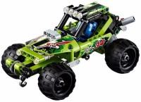 Emob 148 PCS Desert Racer King Steerer Block Set with Pull Back Technic(Green)