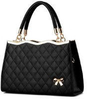 Tanned Hand-held Bag(Black)