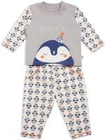 FS MINI KLUB Kids Nightwear Boys Printed Cotton(Multicolor Pack of 2)