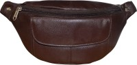 Style 98 Style 98 Brown Premium Quality Leather Waist Bag For Men Waist Bag(Brown)