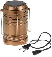 View POWERNRI campaign Lantern With Phone Charger Solar Lights(Brown) Home Appliances Price Online(POWERNRI)