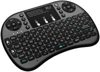 MEZIRE Multi-device Keyboard (Black)-4 Wireless Tablet Keyboard(Black)