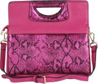 Pink Rose Women Multicolor PU Sling Bag