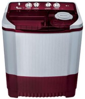LG 8 kg Semi Automatic Top Load Washing Machine White, Maroon(P9042R3SM)
