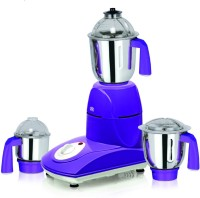 Viaan Classic 750W Mixer Grinder with 3 Stainless Steel Jars 750 W Mixer Grinder(Purple, 3 Jars)