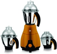 Viaan Winner 750W Mixer Grinder with 3 Stainless Steel Jars 750 W Mixer Grinder(Brown, Black, 3 Jars)