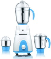 Viaan Classic 750W Mixer Grinder with 3 Stainless Steel Jars 750 W Mixer Grinder(WhiteBlue, 3 Jars)