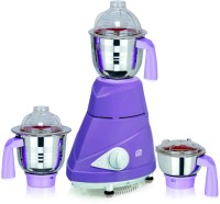 Viaan Hybrid 750W Mixer Grinder with 3 Stainless Steel Jars 750 W Mixer Grinder(PurpleWhite, 3 Jars)
