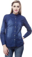 Trendyfrog Girls Self Design Casual Shirt