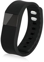 A CONNECT Z TW64 Smart Wrist fitness Band(Grey Strap, Size : Regular)