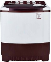 LG 7.5 kg Semi Automatic Top Load Washing Machine White, Maroon(P8541R3SA)