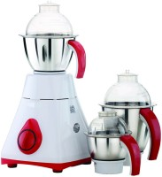 Viaan 750W Classic Mixer Grinder with 3 Stainless Steel Jars 750 W Mixer Grinder(White, 3 Jars)