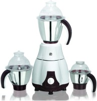 Viaan Classic 750W Mixer Grinder with 3 Stainless Steel Jars 750 W Mixer Grinder(White, Brown, 3 Jars)