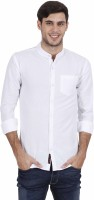 Rope Men's Solid Casual White Shirt