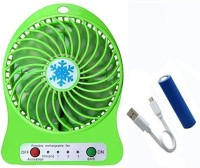 View Homepro Portable, Battery Operated Powerful Rechargeable Hi - Speed USB Fan FAN-002 USB Fan(Green) Laptop Accessories Price Online(Homepro)