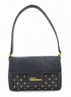 Sophia Visconti Shoulder Bag(Black, 2 L)