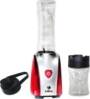 Libra LNB01 400 W Juicer Mixer Grinder(Metalic red, Silver, 2 Jars)