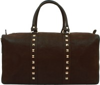 20 Dresses A Studded Weekend Away Duffel Weekender(Brown, 12)