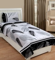 The Divine Cotton King Bed Cover(Multicolor, 1 Single Bedsheet With 1 Pillow Cover)