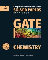 Chapterwise Solved Papers Chemistry GATE(English, Paperback, Dr. Sanjay Saxena | Preeti Gupta)