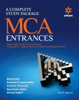 Complete Study Pacakage for MCA Entrances(English, Paperback, Amit M Agarwal)