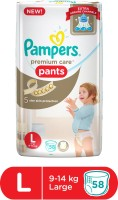 Pampers Premium Care Pants Diapers - L(58 Pieces)