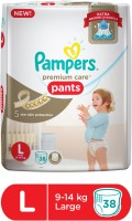 Pampers Pampers Premium Care Pants Diapers - L(38 Pieces)