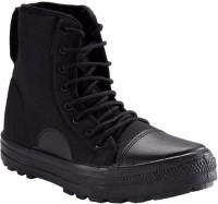 Unistar High Ankle Jungle Boots For Men(Black)