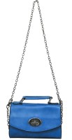 Heels & Handles Women Blue PU Sling Bag