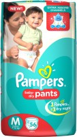 Pampers Baby Dry Pants - M(56 Pieces)