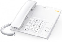 View Alcatel T-26 Corded Landline Phone(White) Home Appliances Price Online(Alcatel)