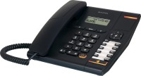 View Alcatel T-580 Corded Landline Phone(Black) Home Appliances Price Online(Alcatel)