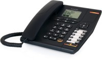 View Alcatel T-780 Corded Landline Phone(Black) Home Appliances Price Online(Alcatel)