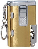 View Pia International WITH LED UV STYLIST COOL Cigarette Lighter(Gold) Laptop Accessories Price Online(Pia International)