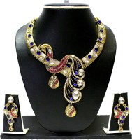 Zaveri Pearls Alloy Jewel Set(Multicolor)