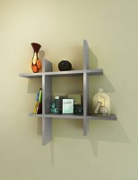 View Wooden Art & Toys Na MDF Wall Shelf(Number of Shelves - 1, Grey) Furniture (Wooden Art & Toys)