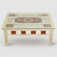 ExclusiveLane Solid Wood Coffee Table(Finish Color - Walnut Brown)