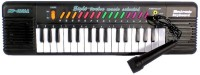 Tiny's World Children Kids 32 Keys Organ Piano KEYBOARD w Mic Musical Toy 6832A(Black)