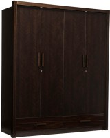 Durian MARK Engineered Wood 4 Door Wardrobe(Finish Color - Dark Cherry)