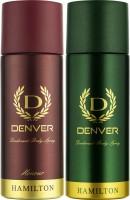 Denver Hamilton and Honour Deo Combo (Pack of 2) Deodorant Spray - For Men(330 ml, Pack of 2)