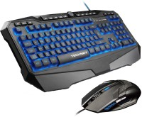 View Tecknet X701 Gryphon Pro Programmable Gaming Keyboard & M268 Gaming Mouse Combo Set Laptop Accessories Price Online(Tecknet)