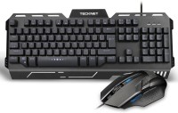 View Tecknet X641 Phoenix Illuminated Gaming Keyboard/Mouse-US Combo Set Laptop Accessories Price Online(Tecknet)